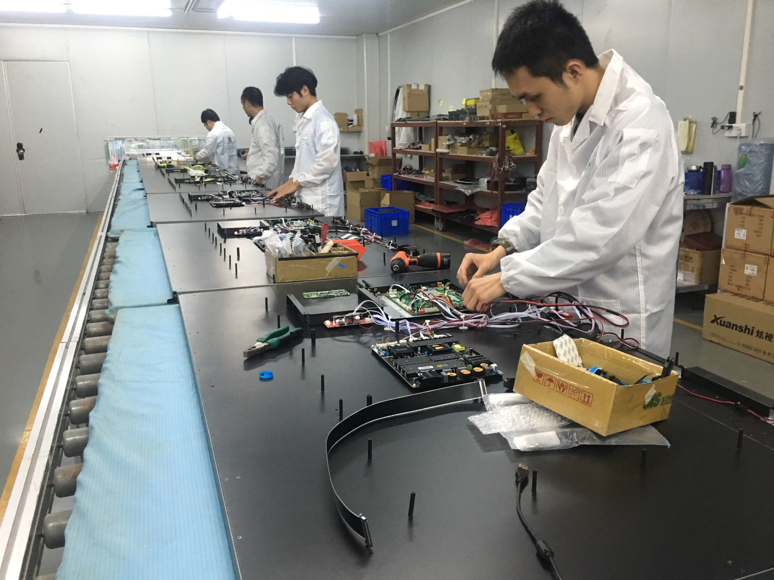 interactive whiteboard Factory Production Line